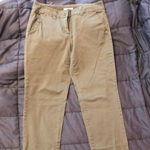 New York and Co green pants